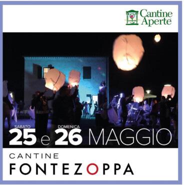 Cantine Aperte 25-26 maggio 2019 a Fontezoppa
