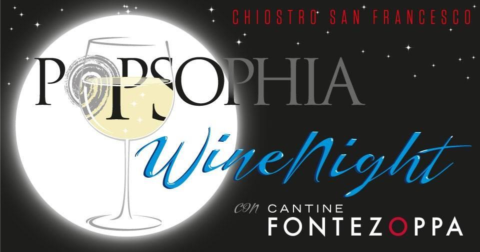 Wine Night a Popsophia 2019