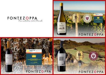 Tre vini, due territori, una regione e molti premi!